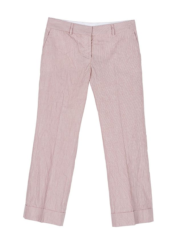 QL2 - MAUREEN COTTON FIL A FIL CROPPED PANT  ( Clear the mistery) #women's #fashion