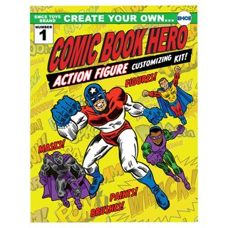 Create Your Own Superhero Action Figure Customizing Kit -http://www.overstock.com/Sports-Toys/Create-Your-Own-Superhero-Action-Figure-Customizing-Kit/8137075/product.html?refccid=UU3PEGOB5INK24CCM6W3HGGSOQ&searchidx=9