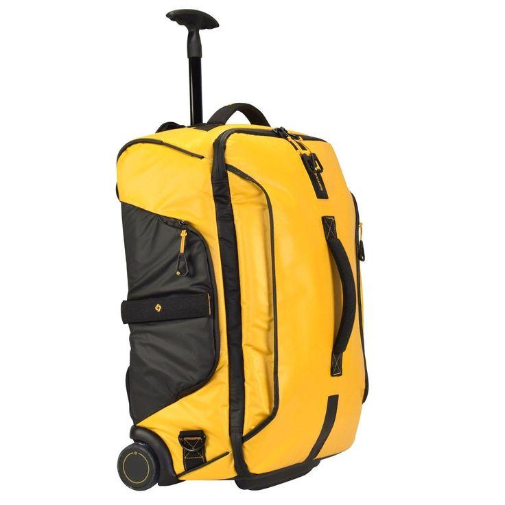 Samsonite Paradiver Light Rollen-Reisetasche 55 cm für 170,10€. Ausstattung: Innenfutter, Tasche(n) innen, Rucksac, Rollensystem: 2 Rollen bei OTTO