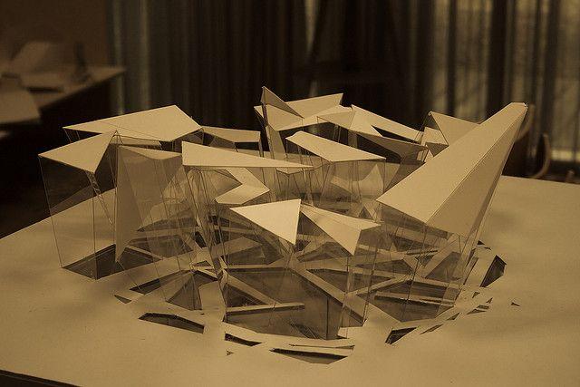 Architecture model by Jon Olav, via Flickr