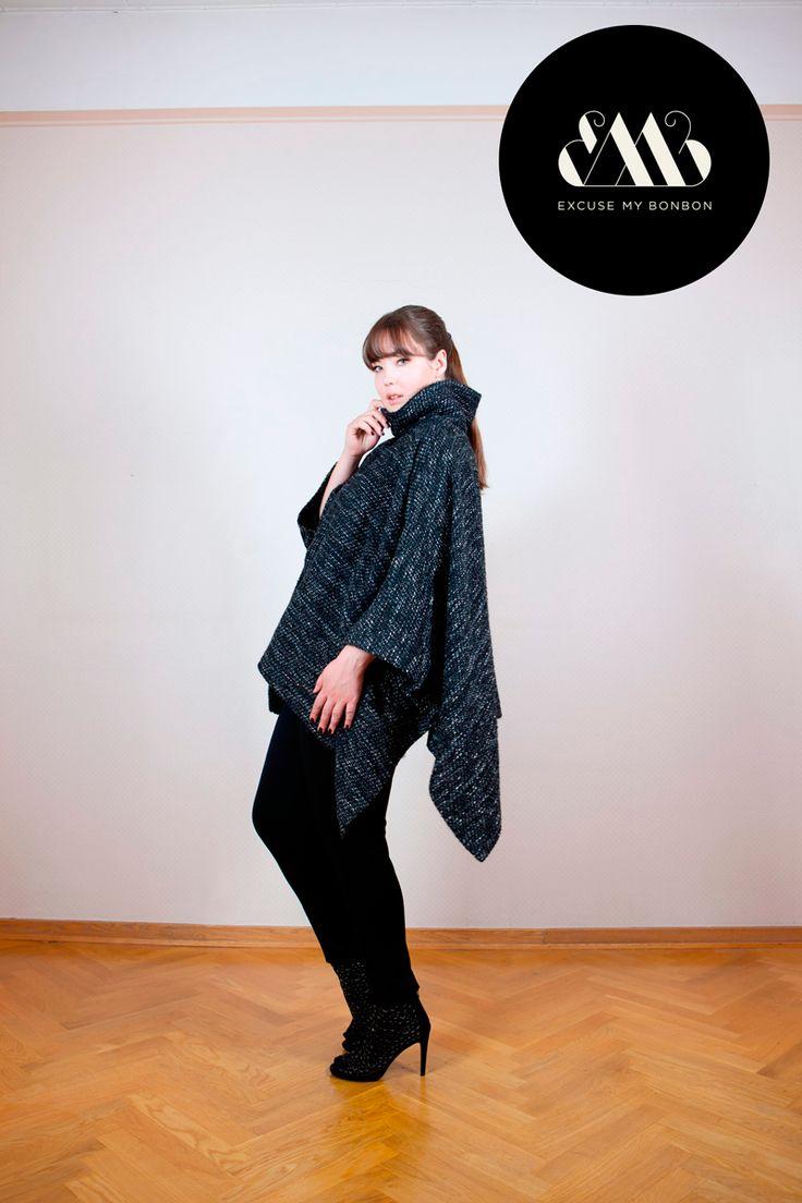 Tanita Poncho & Lina Leggings Photo: Jeremy Barrois Make up: Janne Suono Model: Ninja Sarasalo