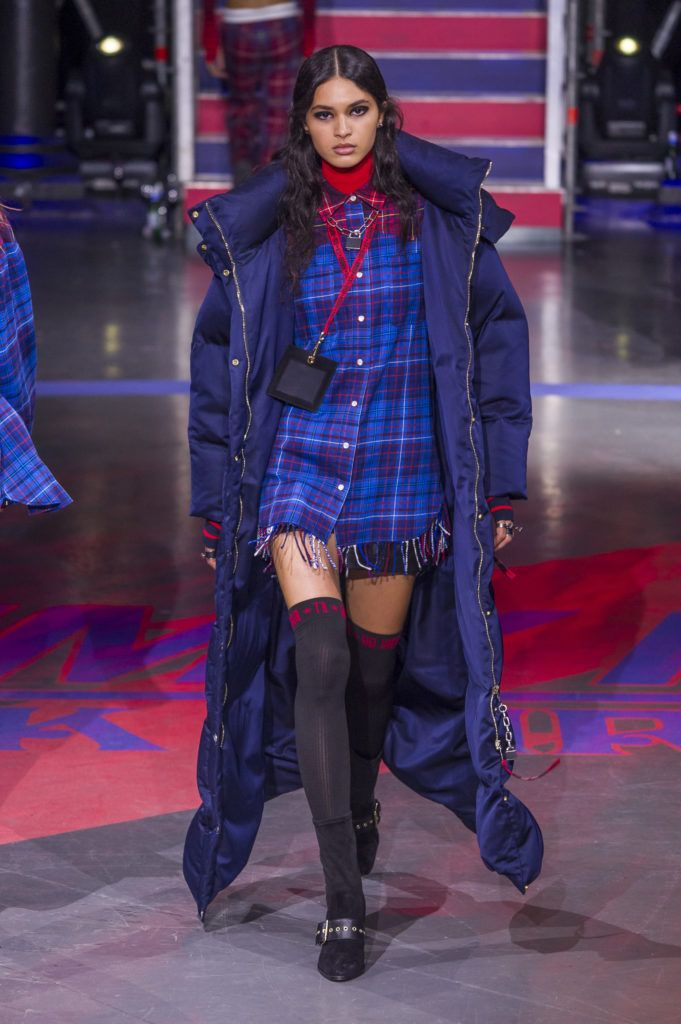 The TOMMYNOW ROCK CIRCUS Runway Show had it all, the top models, the 90s vintage fashion, and a soundtrack worthy of the legendary show location