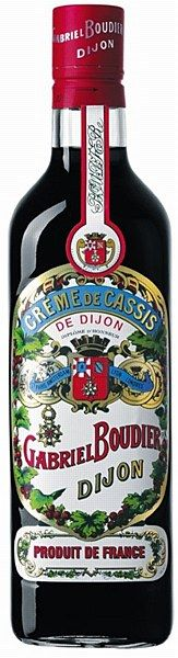 Gabriel Boudier Crème de Cassis 16% 70cl - Crème de Cassis de Dijon is the only liqueur which must be manufactured by macerating blackcurrants in alcohol without preservatives or colouring agents. All fruit creams and liqueurs manufactured by Gabriel BOUDIER are also based on this respect of the fruit.
