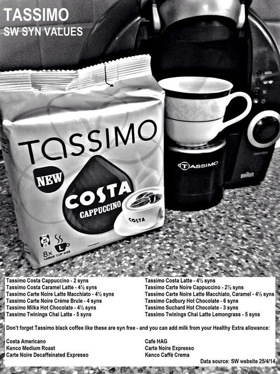 Tassimo Syns: