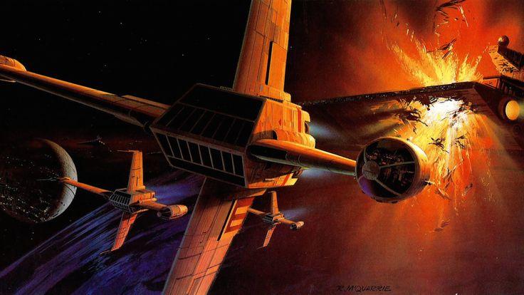 Ralph McQuarrie Star Wars Concept Art Part 2 - Album on Imgur