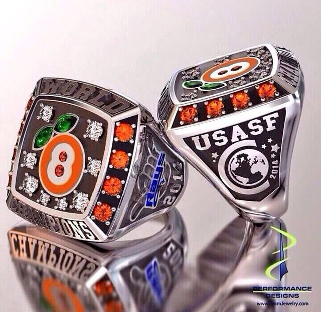 All star cheerleading worlds ring