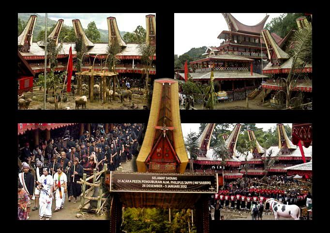 Funeral Ceremony @ Toraja, South Sulawesi, INDONESIA, Sereale