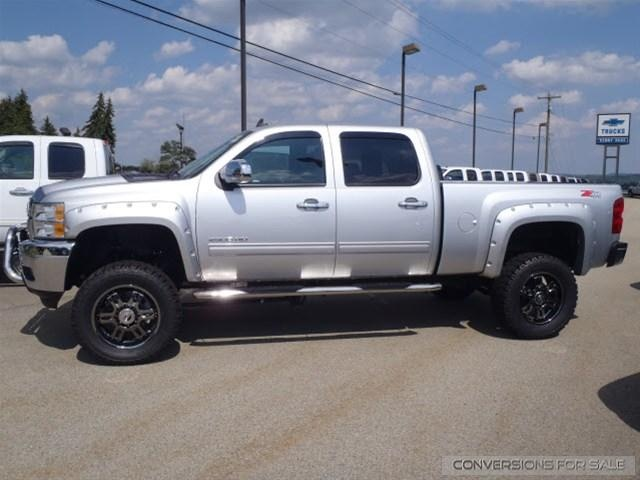 2013 Chevy Silverado 2500HD Diesel Rocky Ridge Conversion Lifted Truck. So can I have it