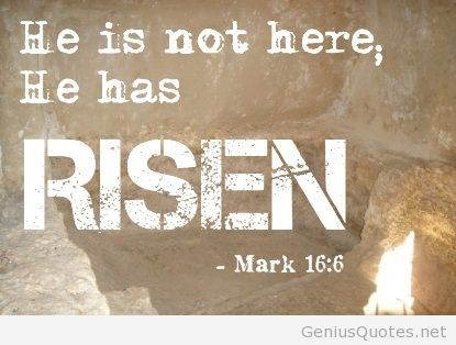 A quote about Easter