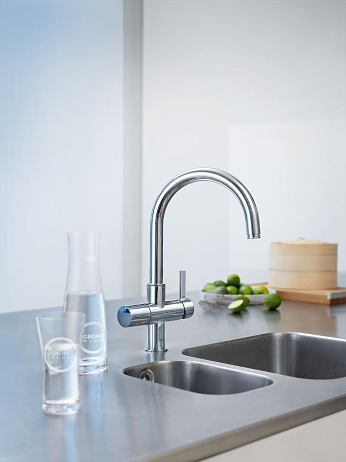 147 best GROHE KITCHEN & BATH images on Pinterest   Bathroom faucets ...