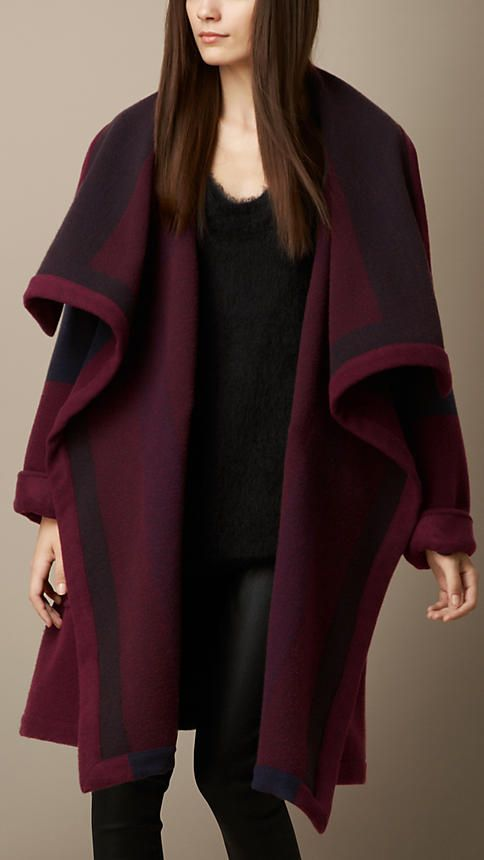 Casaco em malha blanket | Burberry