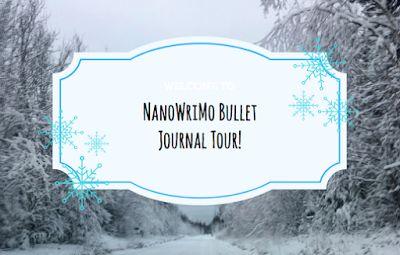 The Frozen Book Blog: Nanowrimo Bullet Journal Tour!