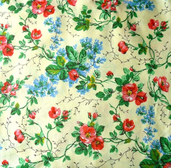 Rag Rescue - Unused French vintage fabric - JN21