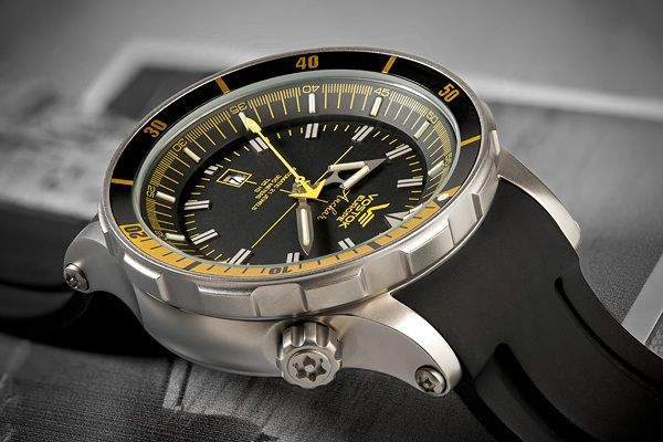 Vostok Europe Anchar Diver Watch. Don't normally go for dive watches, something nice going on here though.