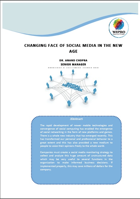 The Changing Face of Social Media in the New Age