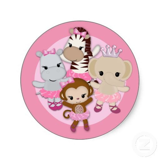 monkey girl baby shower theme 4