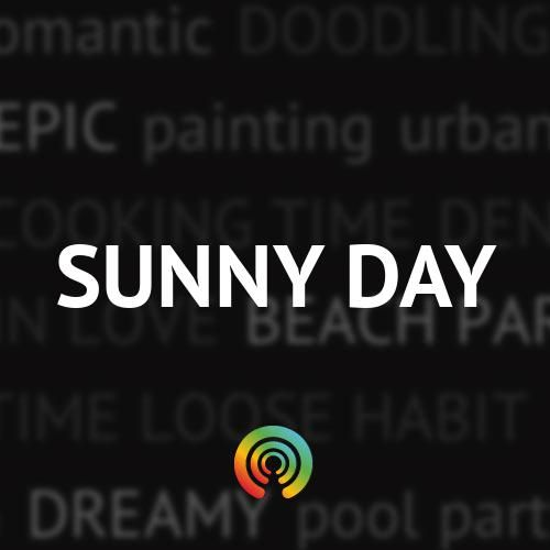Its a beautiful day in the neighborhood! Put on those sunglasses and sway to the upbeat sounds of the Sunny Day mix by N.A.M.B., Dumbo Gets Mad, The Blisters Boyz and lots more.                                  via Stereomood