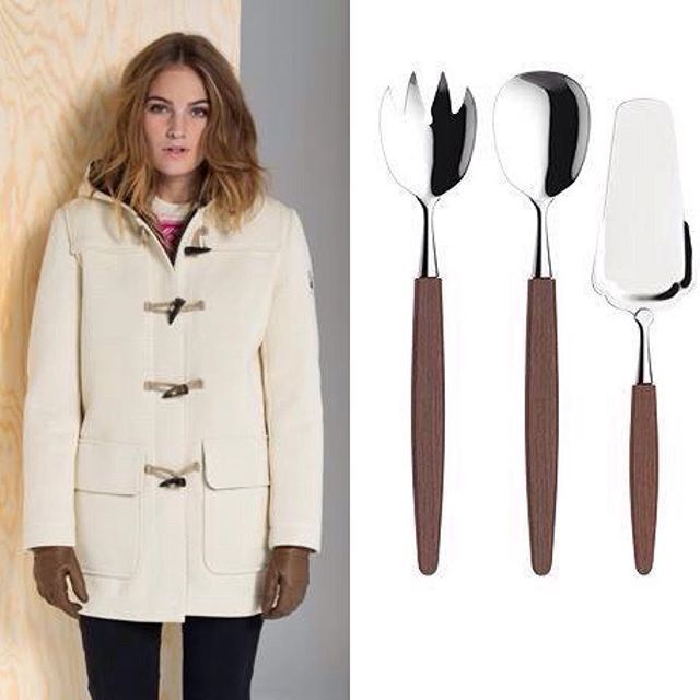 It's Norway again, obviously!  Warm & comfy, rain - and wind resistant Dale of Norway's duffle coat Oslo is on its way to Maastricht, the Netherlands, while  my favourite 50's/60's flatware Skaugum Kebony is about to embark on a new adventure in the US. Free shipping for orders over €75,-. Worldwide. #Norway #daleofnorway #dufflecoat #oslo #skaugumbestikk #kebony #nordic #scandinavian