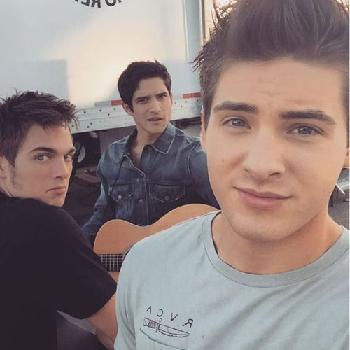 teen wolf - tyler posey, and cody christian, dylan sprayberry - @codychristian: We're in a band yo