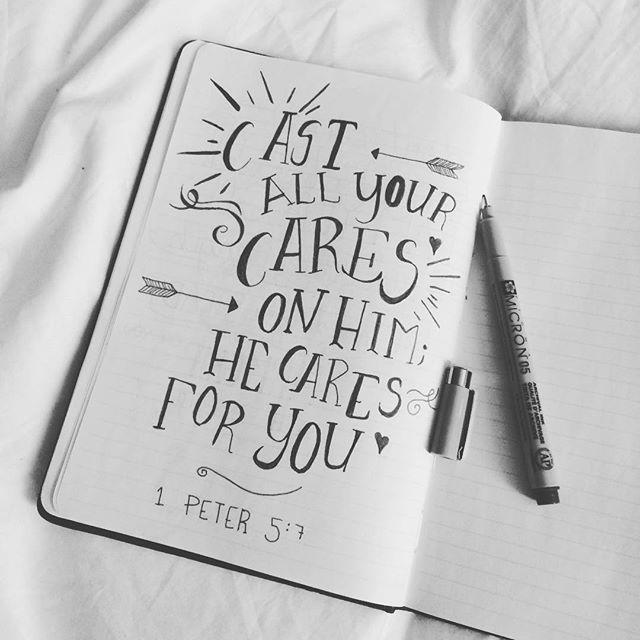 | 1 Peter 5:7 |