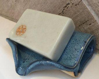 Self Draining Soap Dish - Peacock Blue