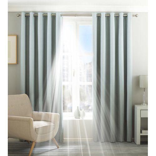 Wayfair Basics Eclipse Eyelet Blackout Thermal Curtains Thermal Curtains Drapes Curtains Home Decor Quotes