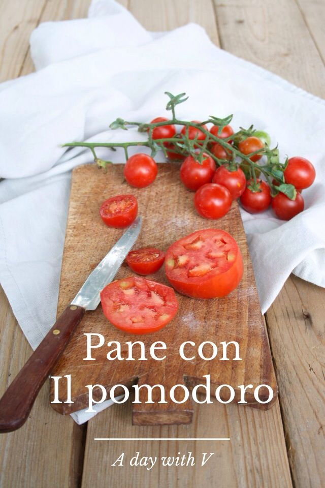 "This is what we mean when we say ""Pane con il pomodoro"" in Tuscany"