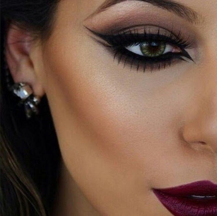 make up, макияж, как накрасится, зеленые глаза, идеальный макияж, мастер класс