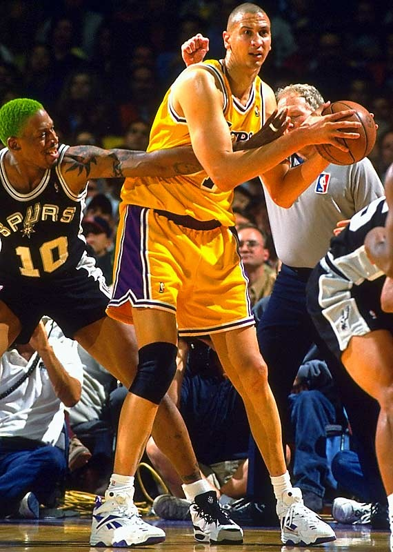 Sam Bowie Los Angeles Lakers Dennis Rodman San Antonio Spurs