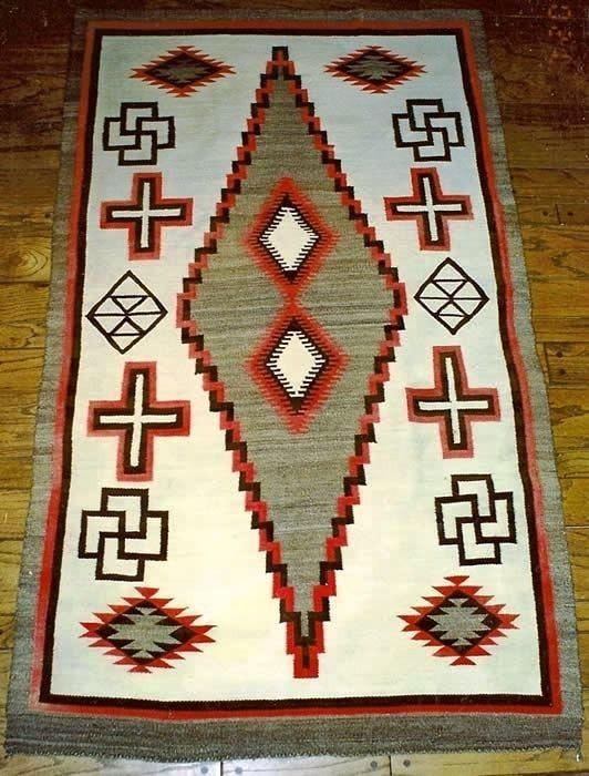 Crystal Navajo Weaving : Historic : GHT 549