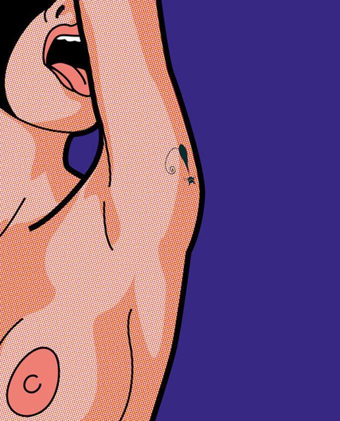 A intimidade dos super-heróis de Greg Guillemin