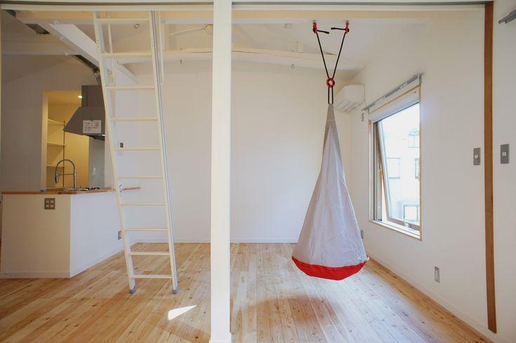 ハンモックがお似合いね(東京都練馬区) | 東京のリノベーション・デザイナーズ賃貸ならグッドルーム[goodroom]