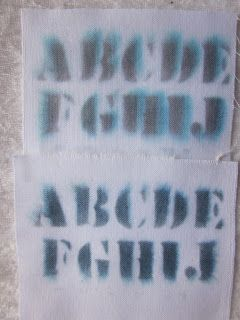 A tutorial containing tips about colouring fabric with Distress Inks.