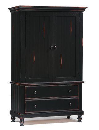 distressed black armoire | EBONY | Pinterest