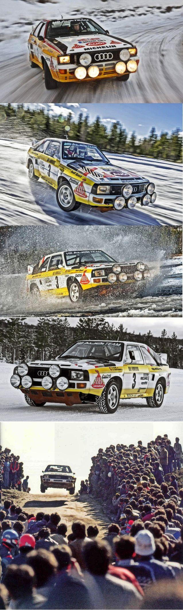 —- Classic  –  The Golden Era Of Group B Rally -  Audi Sport quattro S1 – http://krro.com.mx/