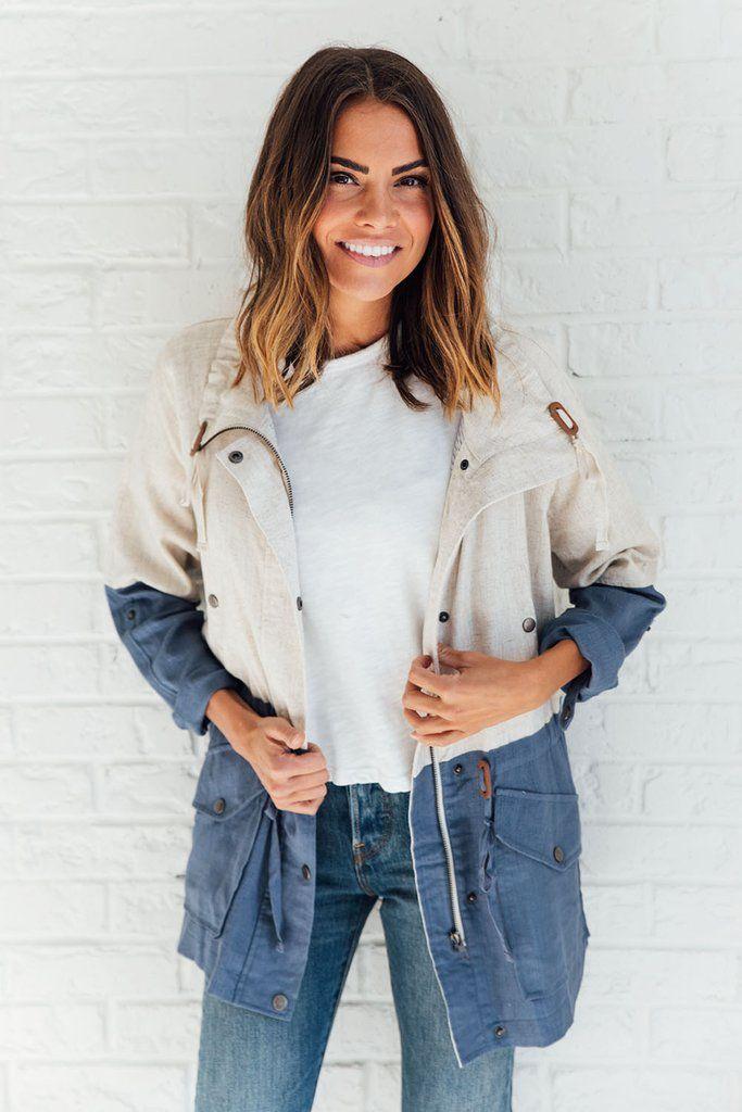Remi Linen Jacket – cladandcloth