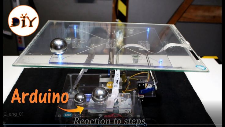 Ball on Plate PID controller with Arduino - (2/2)