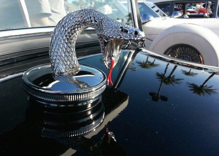 snake hood ornament   hot rod design ideas   Pinterest ...