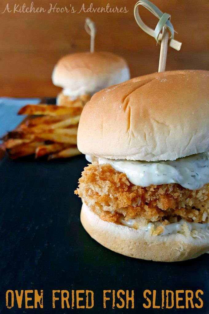 for a fried fish sandwich inspired these super crispy, Oven Fried Fish ...