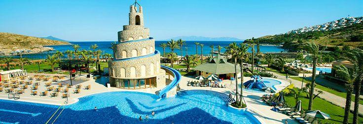 Fantasien sætter inden grænser! Book din rejse nu til vores familievenlige hotel Blue Village Bodrum Imperial i Turgutreis, Tyrkiet. Hotellet byder på mange forskellige faciliteter, som du kan se på www.StarTour.dk
