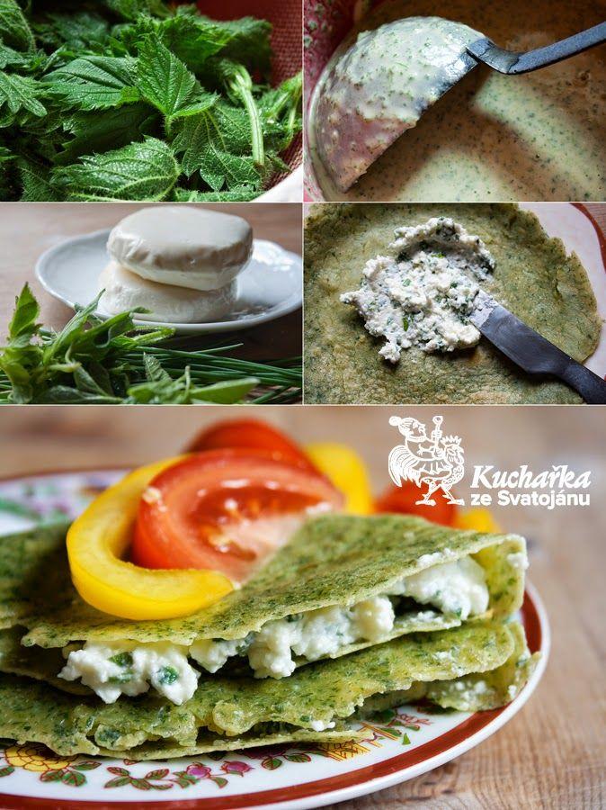 Kuchařka ze Svatojánu: KOPŘIVOVÉ OMELETY S BYLINKOVÝM SÝREM