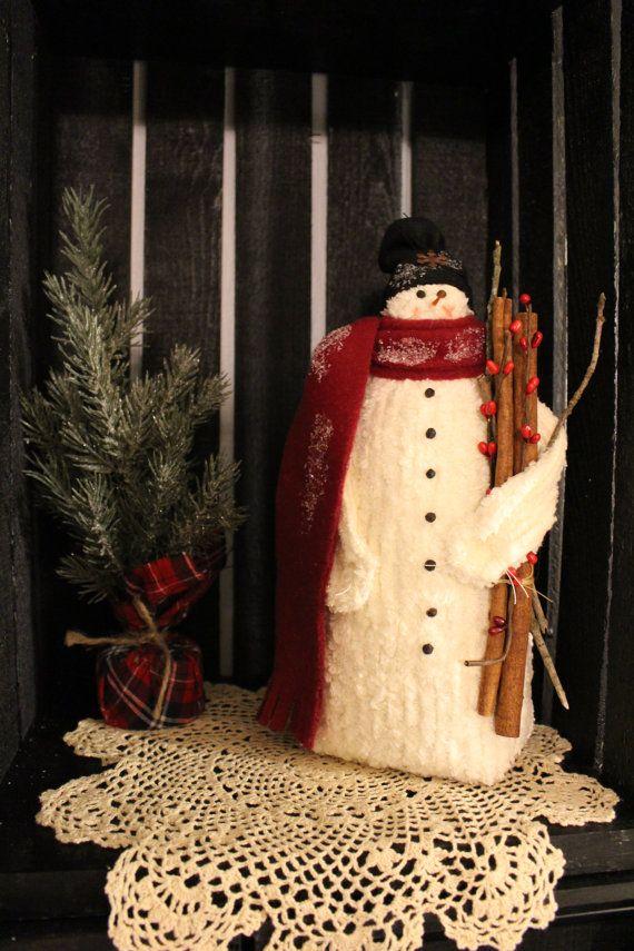 Lil' Joey  décoration de Noël primitif par VillageQuiltsnCrafts