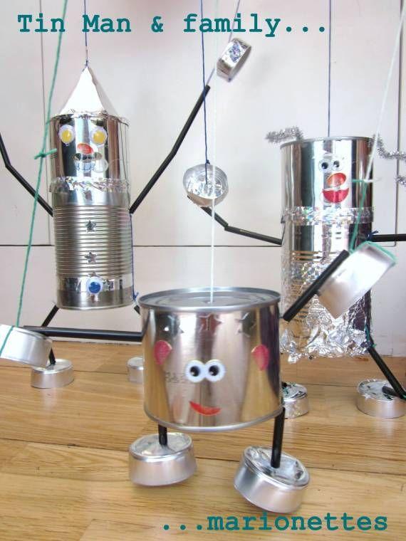 Marionnettes de conserve | La cabane à idées