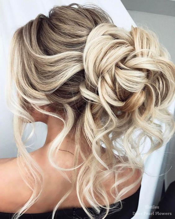 40 Best Wedding Hairstyles For Long Hair – #Hair #Hairstyles #Long #Wedding