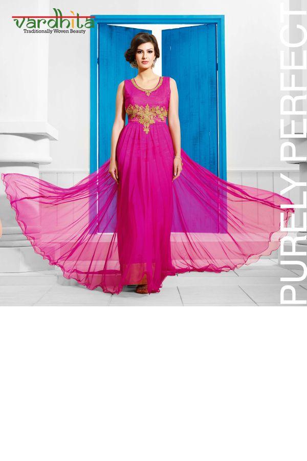 39 best Designer gown images on Pinterest   Anarkali dress, Anarkali ...