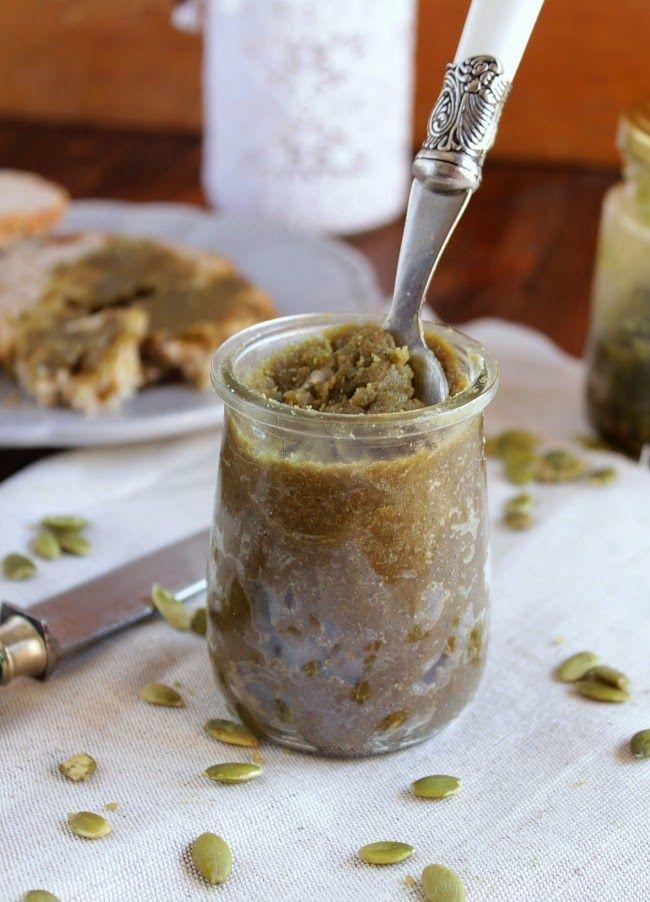 Pasta de sementes de abóbora .Pumpkin seed butter {scroll down for english version}