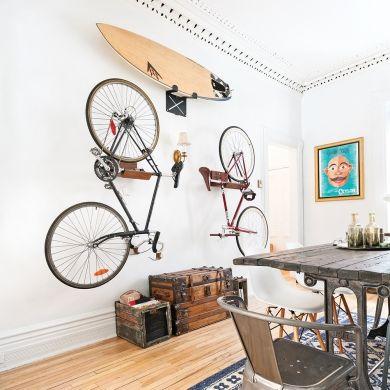 Les équipements sportifs décoratifs - Rangement - Inspirations - Décoration et rénovation - Pratico Pratique