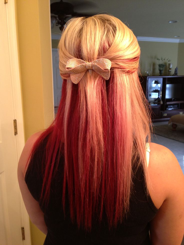 My Red And Blonde Hair Tattoos Pinterest