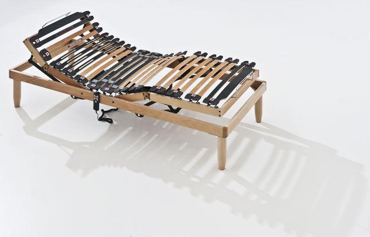 rete motorizzata tutto legno