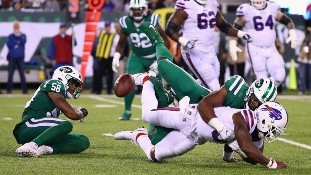 New York Jets defeat Buffalo Bills with defensive masterclass